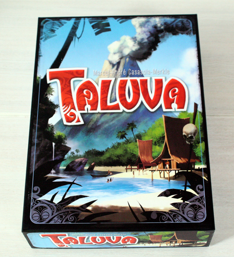 Taluva Board Game 2-4 Players Cards Game Classic Tactics Games Send English Instructions Free Shipping indoor games saint petersburg board game cards game 2 5 players family toys game for children with parents indoor games