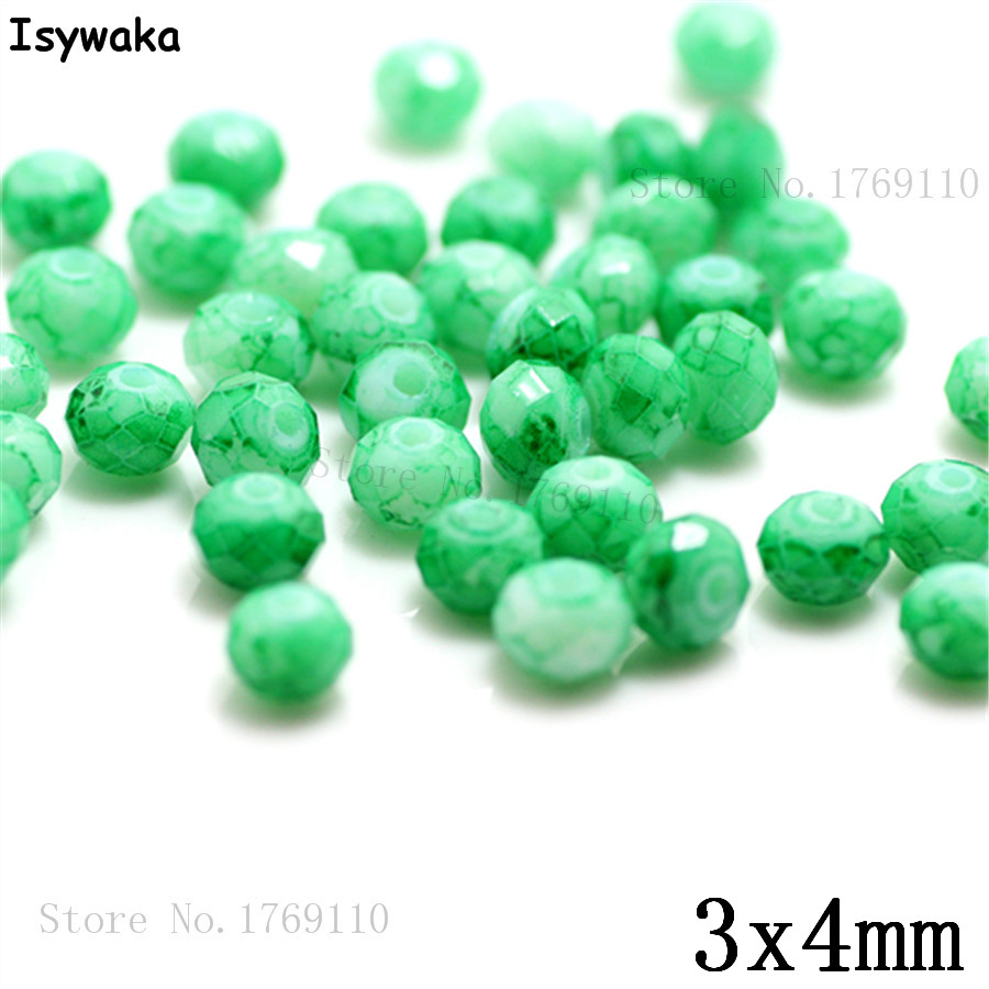 Isywaka 3X4mm 30,000pcs Rondelle  Austria faceted Crystal Glass Beads Loose Spacer Round Beads Jewelry Making NO.35Isywaka 3X4mm 30,000pcs Rondelle  Austria faceted Crystal Glass Beads Loose Spacer Round Beads Jewelry Making NO.35
