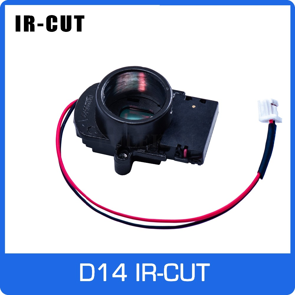 IR CUT ICR With D14 Lens Mount Holder Dual Filters Day And Nigh Automatically Switch For CCTV Camera