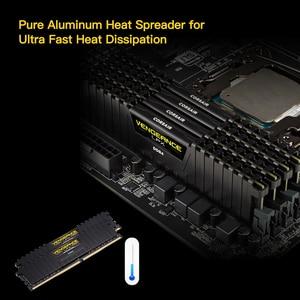 Image 4 - CORSAIR Vengeance RAM bellek LPX 4GB 8GB 16GB 32GB DDR4 PC4 2400Mhz 2666Mhz 3000Mhz 3200Mhz modülü bilgisayar masaüstü RAM bellek DIMM