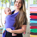 2017 Hotsales Colorful Baby Carrier Soft Infant Wrap Breathable Infant Sling Hipseat Breastfeed Birth Comfortable Nursing Cover