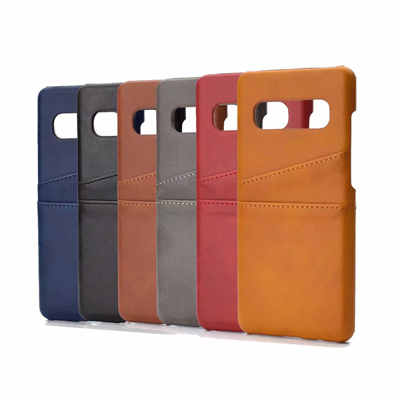 Retro PU Leather Case for Samsung Galaxy S10 Plus S10 Lite Coque Card Slots Wallet Cover for Samsung S10 Plus S9 Plus Phone Case iPhone XS
