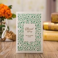 50pcs Pack Hollow Floral Favors Laser Cut Wedding Invitation With Inside Page Customizable Business Birthday Party