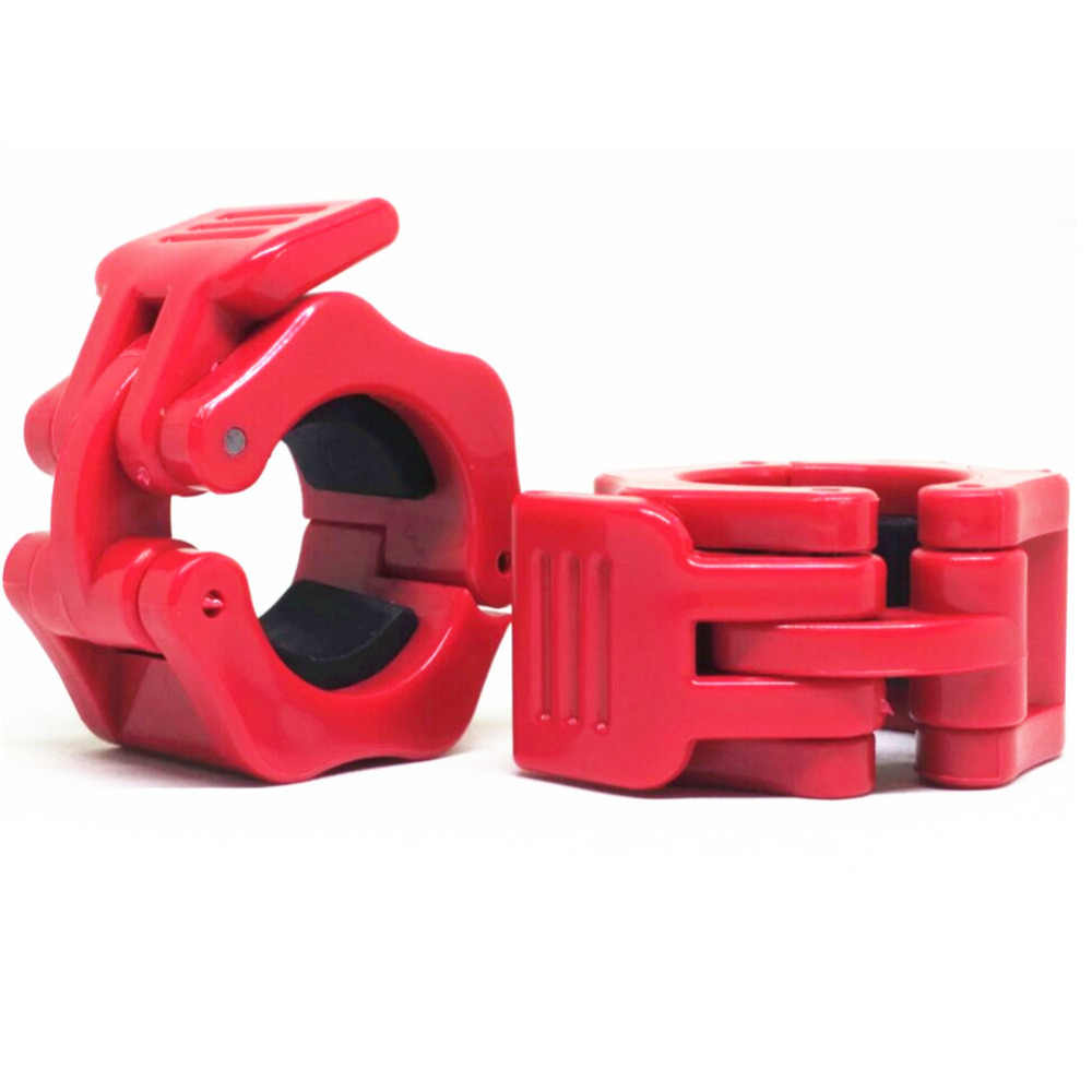 """1Pair Olympic Dumbbell Barbell Bar Lock 2/"""" Weight Clamps Collars Gym Brand HOT ~"""