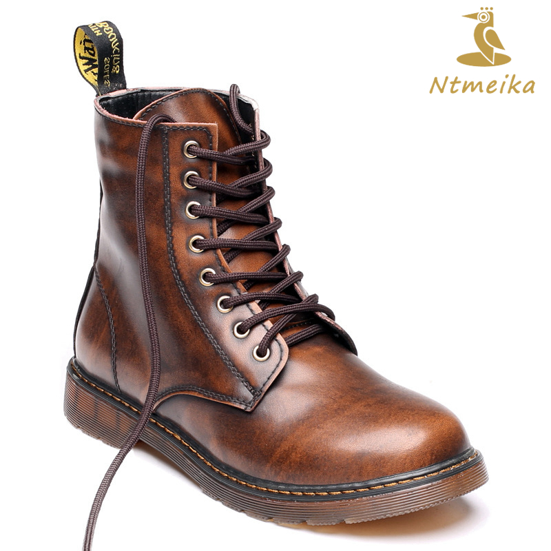 2018 Luxury Brand Boots Men Plus Size 37-47 High Quality Genuine Leather Men Shoes Handmade Comfortable Retro Chelsea Boots size 37 49 full grain leather men boots top quality handmade plus size 2017 genuine leather men shoes hecrafted brand ls7511