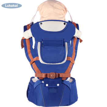 Newborn Baby Carrier Sling Wrap Backpack Ergonomic 1-48M Infant Kangroo HipSeat Face to Face Breathable Kids Sling Pouch Wrap Backpacks & Carriers