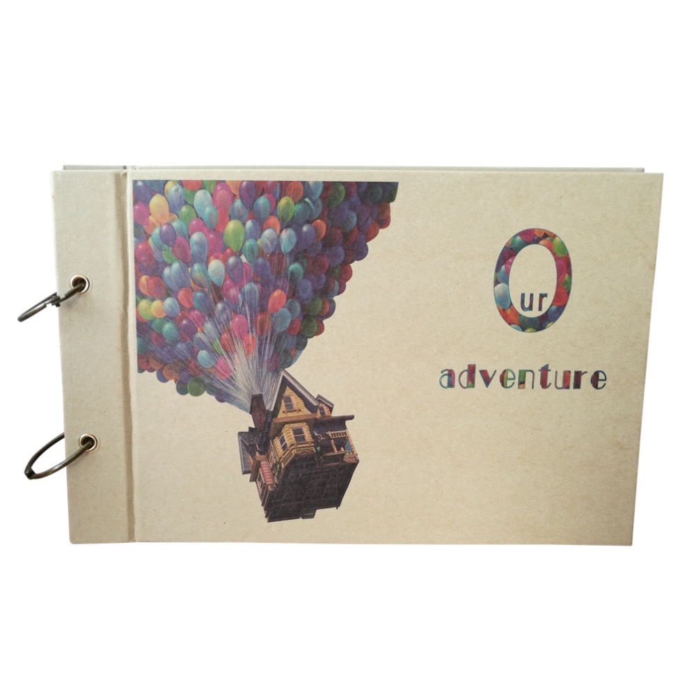 Pixar up Themed Scrapbooking Album, Our Adventure Book, DIY Wedding Photo Album, Hand Made -in Stamps from Home & Garden on Aliexpress.com | Alibaba ...