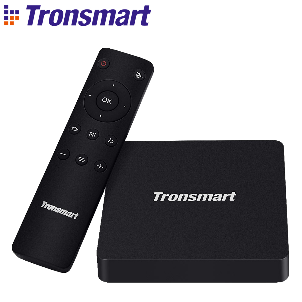 Tronsmart Vega S96 Octa Core Anoroid 6.0 TV Box Amlogic S912 2G/16G eMMC Dual Band 2.4G/5G Dual Band Wifi Bluetooth 1000M LAN