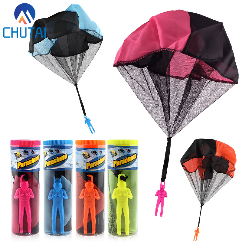 Hand Throwing Mini Play Soldier Parachute Toys for Kids Outdoor Fun Sports Kindergarten Children's Educational Parachute Game