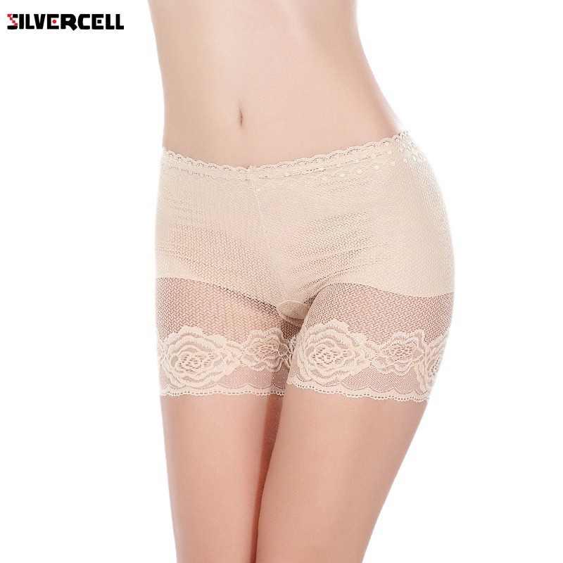 3 цвета женские Защитные женские шорты защитные брюки кружевные Бесшовные тонкие дышащие трусики