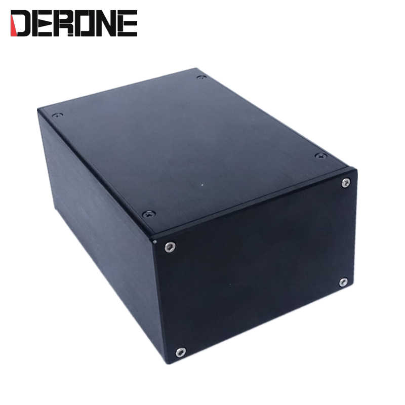 Изолированный коробочный усилитель предусилитель Шасси Корпус 140*90*209 мм алюминиевые корпуса Корпус питания 1409 P