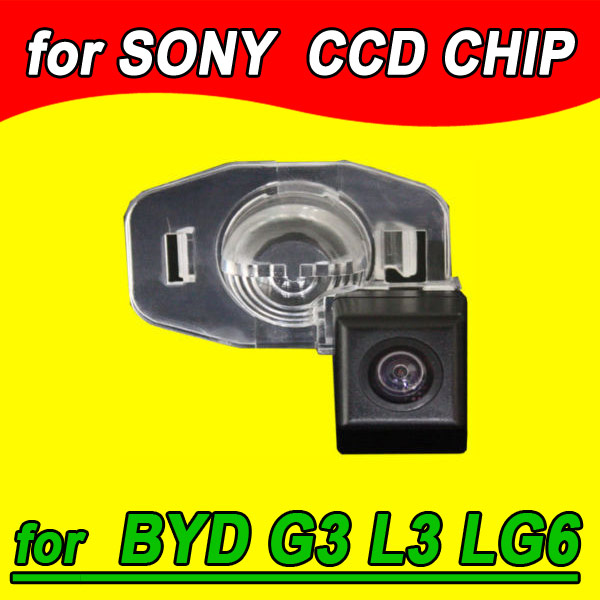 For BYD G3/L3/G6 Car rear view Camera back up reverse for GPS radio NTSC PAL(Optional) waterproof 170 angle