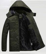 2016 Fashion Men's Casual Long Parkas Hooded Thick Solid Winter Jacket Men Jaqueta Masculina Casaco Masculino Winter Male Jacket