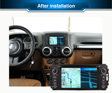 Octa/Quad Core Android Fit JEEP COMMANDER , WRANGLER Car DVD Player Navigation GPS TV 3G Radio