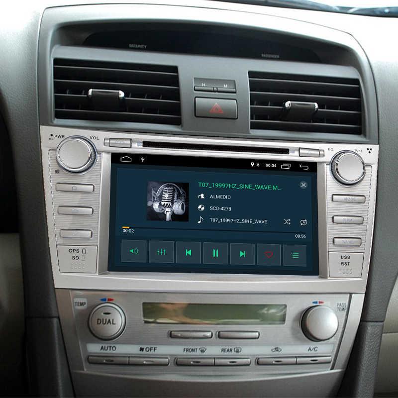 Android 8,1 4 ядра ips RCA автомобильный dvd-плеер для Toyota Camry 2007-2011 Мультимедиа gps навигация двойной USB камера заднего вида с FM и цифровым Радиовещанием