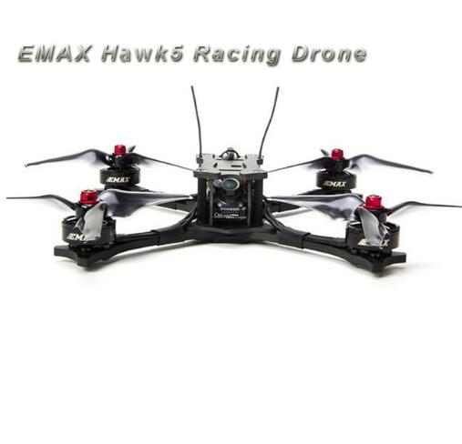 EMAX Hawk5 Hawk_5 210mm 210 Carbon Fiber FPV Multicopter Racing Drone(Micro Cam+OSD Magnum+LS AVAN Flow ) bfight 210 210mm brushless fpv racing drone