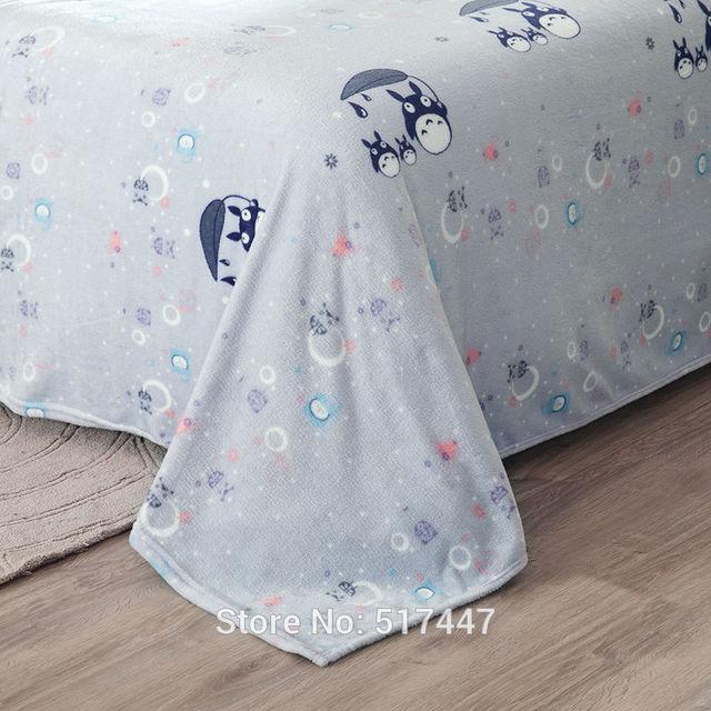 Totoro Queen Size Bedding Set