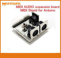 Fast Free Ship MIDI AUDIO Expansion Board MIDI Shield For Arduino