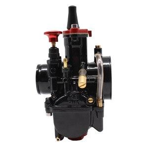 Image 3 - Powermotor 21 24 26 28 30 32 34Mm Universal Black Mikuni Maikuni Pwk Carburateur Onderdelen Scooters Met Power Jet motorfiets Atv