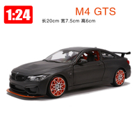 Maisto Model 1:24 Alloy Car M4 GTS Simulation Super Sports Cars Toys Children Boy New Years Gift