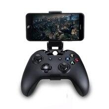 Clip de teléfono móvil para Xbox One S, soporte de agarre de mano para mando fino para Xbox One, Samsung S9, S8