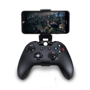 Image 1 - Pince de téléphone portable pour Xbox One S/support de support de poignée de montage de contrôleur mince pour Xbox One Gamepad pour Samsung S9 S8