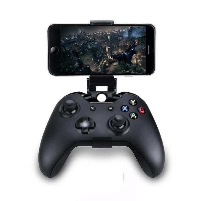 Điện Thoại Di Động Kẹp Cho Máy Xbox One S/Slim Bộ Điều Khiển Gắn Tay Cầm Đế Đứng Dành Cho Xbox One Tay Cầm Chơi Game Cho Samsung s9 S8