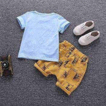 Cartoon Kids Cotton Clothing Set 3