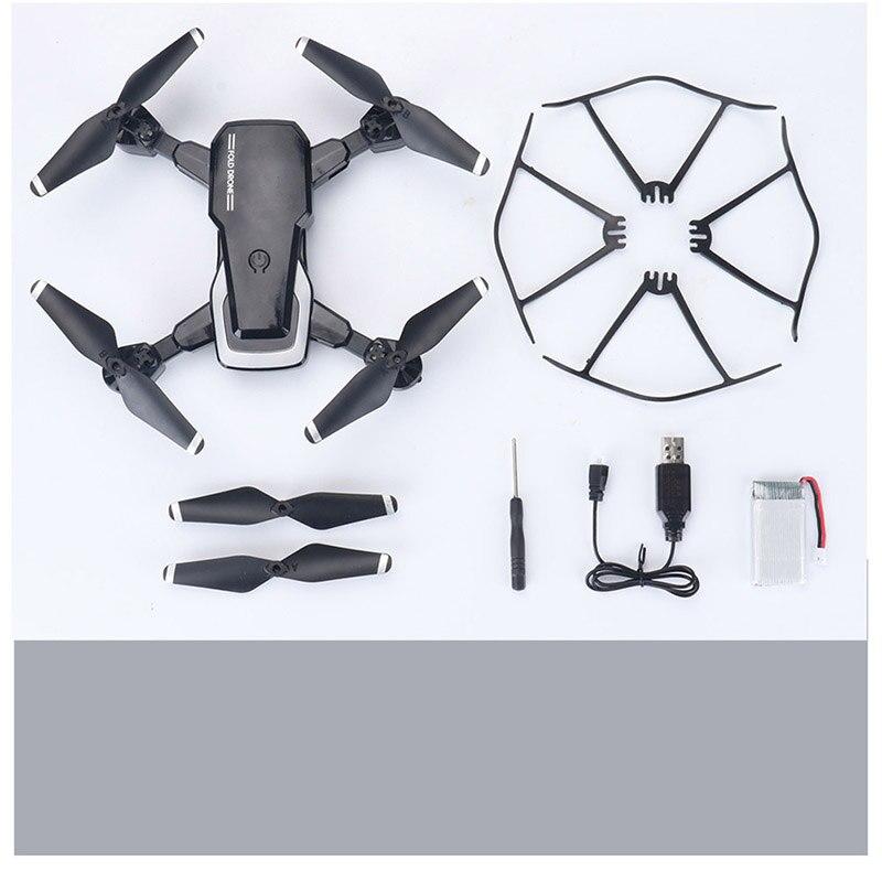 Chico juguete 4 canales quadcopter aviones UAV alto rendimiento plegable altitud luz LED control remoto drone 3D voltea aviones