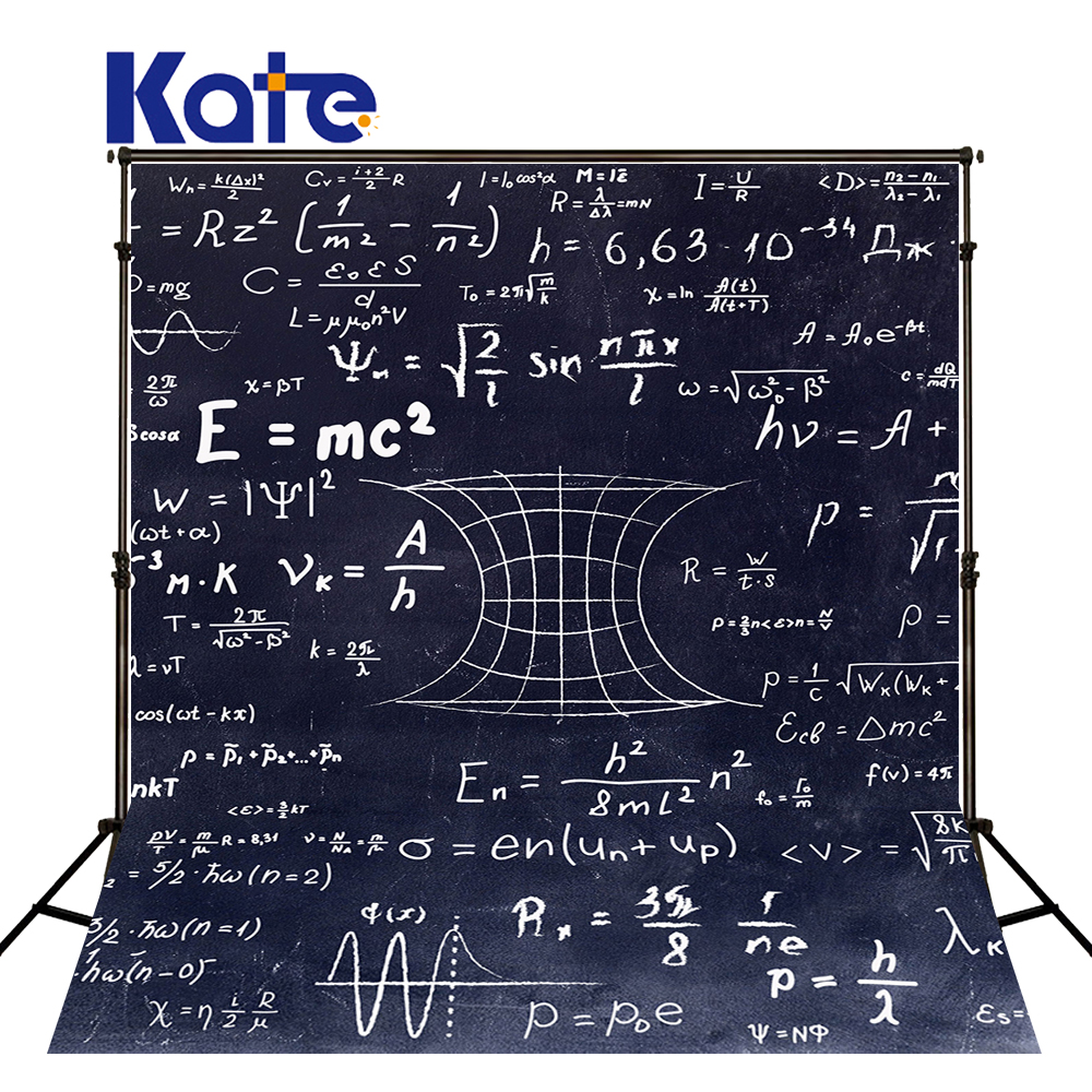 Kate Children School Photography Backdrops Back To School Props Photography Photobooth Blackboard Math Geometry Photo Backdrop