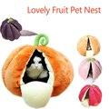 Кошка гнездо кровать фруктовая форма прекрасный питомник для большой кошки большая емкость супер мягкий хлопок щенок котенок кровать 5 вид...