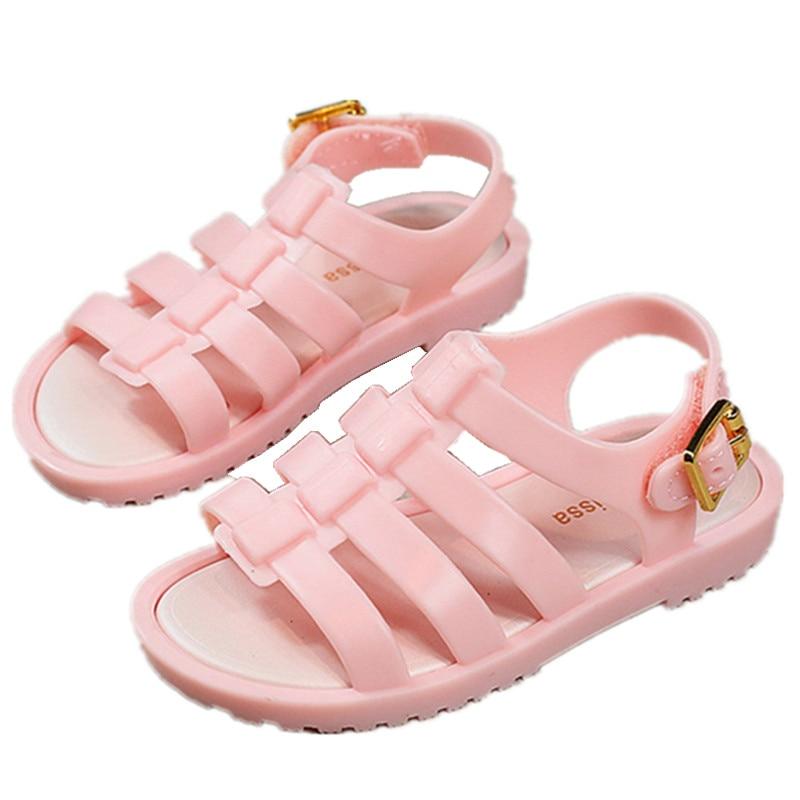 Mini Melissa 2017 Zomer Nieuwe Romeinse Schoenen Meisjes Sandalen - Kinderschoenen - Foto 1