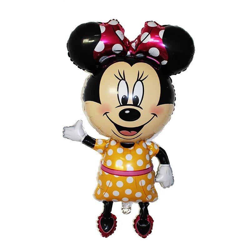 Все манеры Микки Минни воздушные шары на день рождения надувные декорации для вечеринки воздушные шары Детские Классические игрушки мультфильм шляпа - Цвет: 1