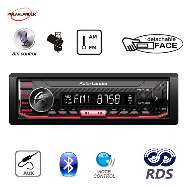 Image 3 - Bluetooth 1 din Support Android 7.0 or Above Car Multimedia Player Autoradio  AM / FM / RDS Radio For Iphone Siri car radio-in Car MP3 Players from Automobiles & Motorcycles