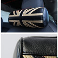 1pc car golden union jack pillow for mini cooper interior