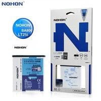 BA800 Original NOHON Battery For Sony Xperia V LT25i S LT26i SL LT26ii VC LT25c Real