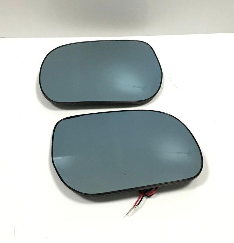 Miroir bleu anti-éblouissement miroir clignotant lampe rétroviseur chauffant pour Toyota RAV4 2009-2013