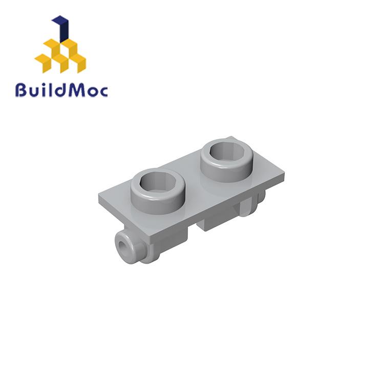 BuildMOC Compatible Assembles Particles 3938 1x2 For Building Blocks Parts DIY LOGO Educational Creative Gift Toys