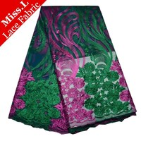 African Lace Fabric French Lace Fabric Floral Organza Fabric Organza Embroidered Fabric Chiffon Butterfly Cloth For