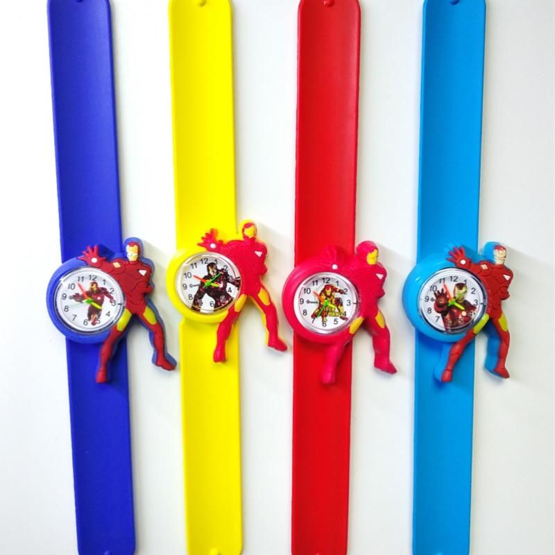 Cartoon Baby Time Toys Child Watch Children Clock Kid Quartz Waterproof Student Wrist Watches For Girls Boys Christmas Gift