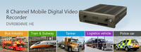 Free Shipping DAHUA Mobile DVR 8 Channel Mobile Digital Video Recorder Without Logo DVR0804ME HE