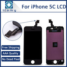 10PCS Grade AAA Quality Mobile Phone LCD Display For Apple iPhone 5c LCD Touch Screen Digitizer Assembly Wholesale