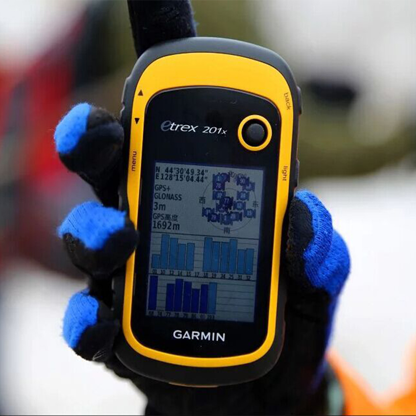JINYUSHI FOR eTrex201x Outdoor hand held GPS latitude and longitude positioning navigation measuring area instrument