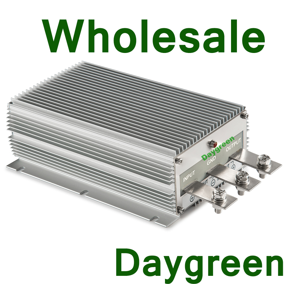 Daygreen 3PCS WHOLESALE 24V TO 48V 30A 1440W STEP UP SWITCHING CONVERTER  REGULATOR PRICE FOR GOLF CAR