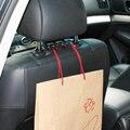 Assento de carro de Volta Saco Organizador Titular Cabide Gancho Assento Roupas pendurado Gancho S de Forma dissimulada Novidade Suprimentos Auto Clipe Para saco