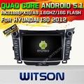 Witson android 5.1 car dvd gps para hyundai i30 car audio player qual-core1.6g tela de toque capacitivo cortex a9 16 gb rom