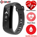 ISMART IS11 Smart Band Bracelet Blood Pressure Oxygen Oximeter Heart Rate Bluetooth Watch Fitness Tracker For iOS Android Men