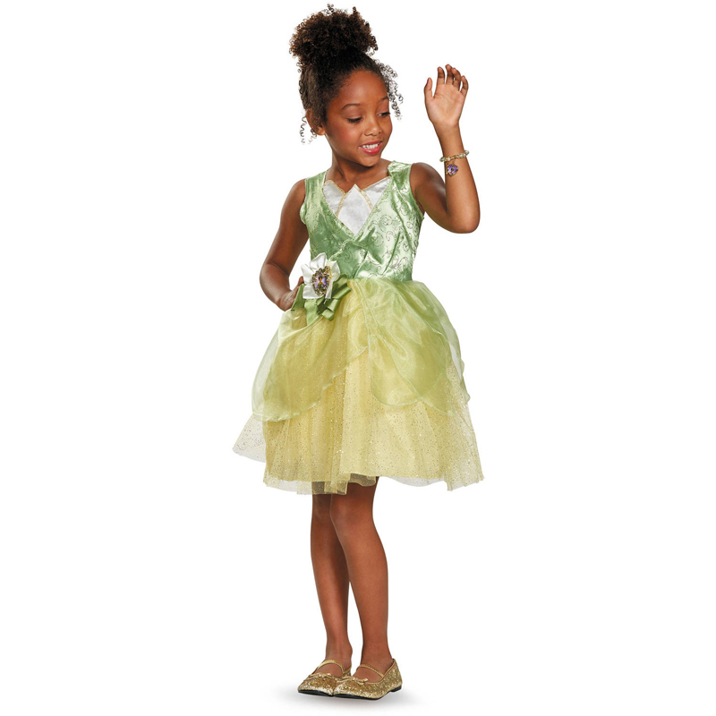Darling Princess And The Frog Tiana Classic Child Halloween Costume