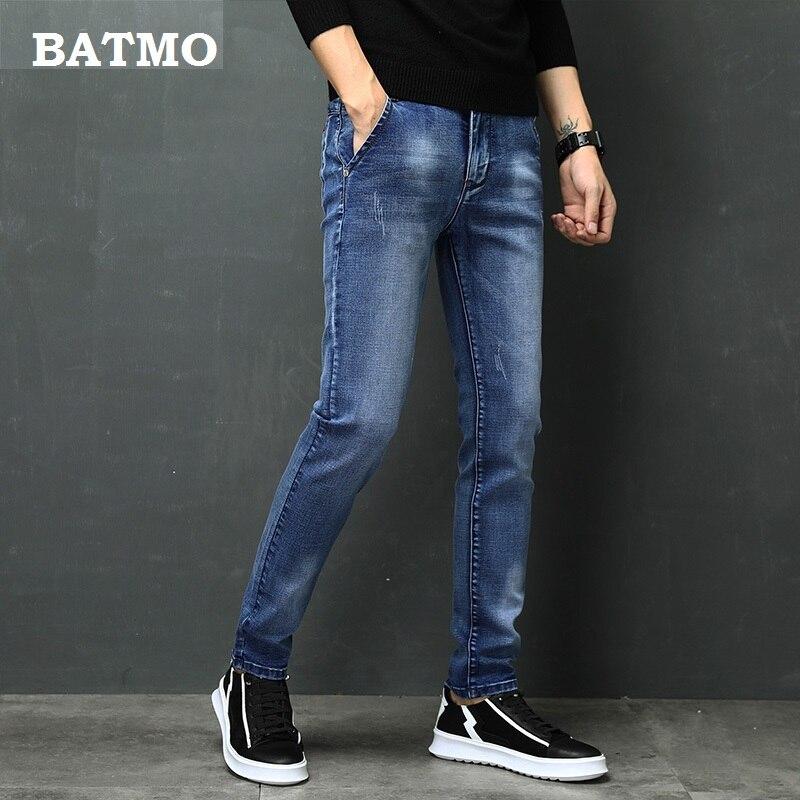 2019 new arrival spring   jeans   men Fashion elasticity men's   jeans   high quality Comfortable Slim male cotton   jeans   pants ,27-36.