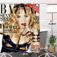 Best Nice Custom Madonna Shower Curtain Bath Curtain Waterproof Fabric For Bathroom MORE SIZE WJY#69
